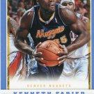 2012 Panini Basketball Card #246 Kenneth Farried