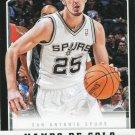 2012 Panini Basketball Card #250 Nando De Colo