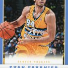 2012 Panini Basketball Card #253 Evan Fournier