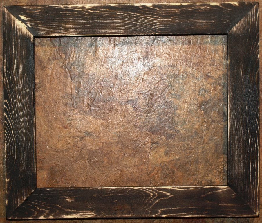 """16 x 24 1-1/2"""" Black Distressed Picture Frame"""