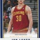 2012 Panini Basketball Card #255 Jon Leuer