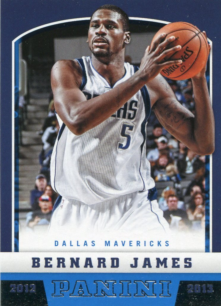 2012 Panini Basketball Card #271 Bernard James