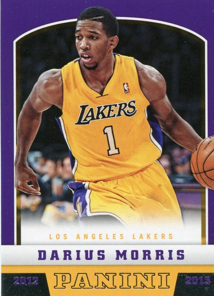 2012 Panini Basketball Card #282 Darius Morris