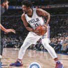 2017 Hoops Basketball Card #1 Joel Embiid