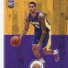 2017 Hoops Basketball Card #277 Kyle Kuzma