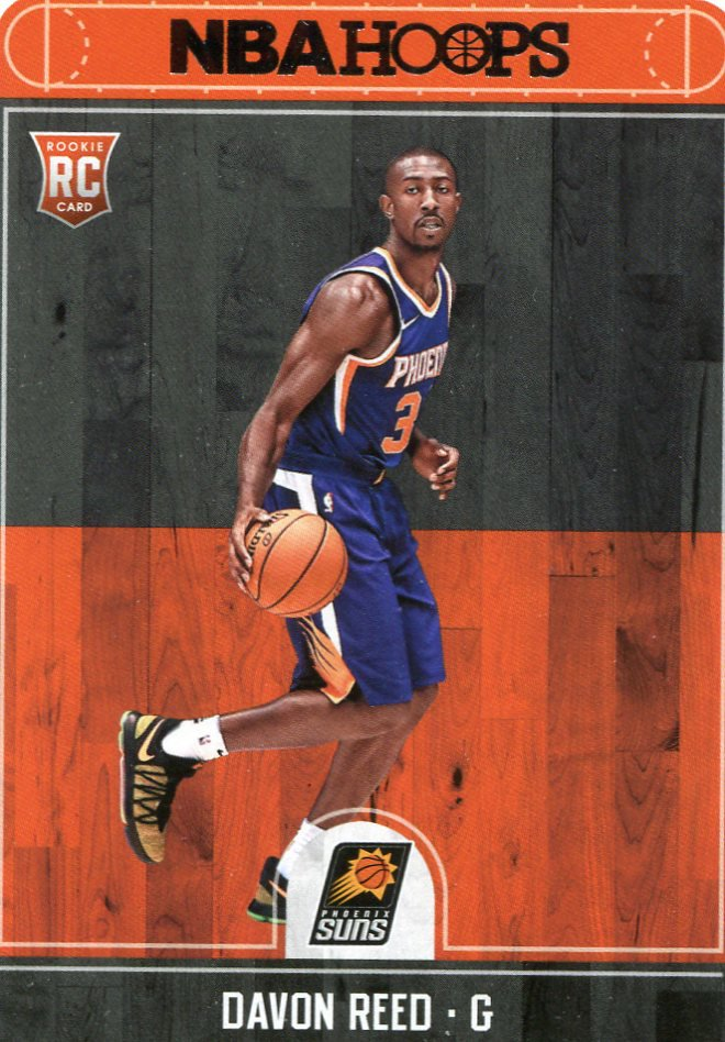 2017 Hoops Basketball Card #282 Davon Reed