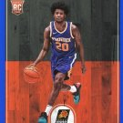 2017 Hoops Basketball Card Blue Parallel #254 Josh Jackson