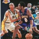 2017 Hoops Basketball Card Blue Parallel #299 Kobe Bryant