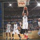 2017 Hoops Basketball Card Lights Camera Action #23 Anthony Davis