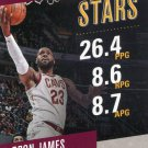 2017 Prestige Basketball Card Stat Stars #1 Lebron James