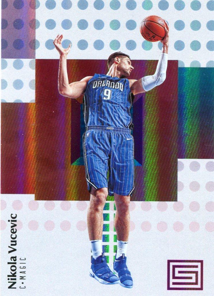 2017 Stratus Basketball Card #55 Nikola Vucevic