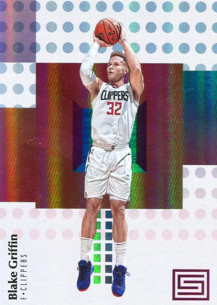 2017 Stratus Basketball Card #65 Blake Griffin