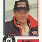 1988 Maxx Racing Card #55 Buddy Baker