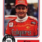 1988 Maxx Racing Card #74 Ken Schrader