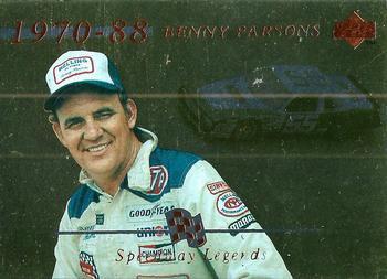 1995 Upper Deck Racing Card #159 Benny Parsons