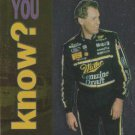 1995 Upper Deck Racing Card #161 Rusty Wallace
