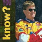 1995 Upper Deck Racing Card #168 Jeff Burton