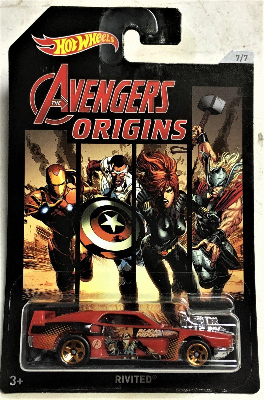 2018 Hot Wheels Avengers #7 Rivited