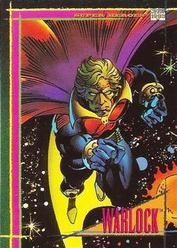 1993 Skybox Marvel Universe #10 Warlock