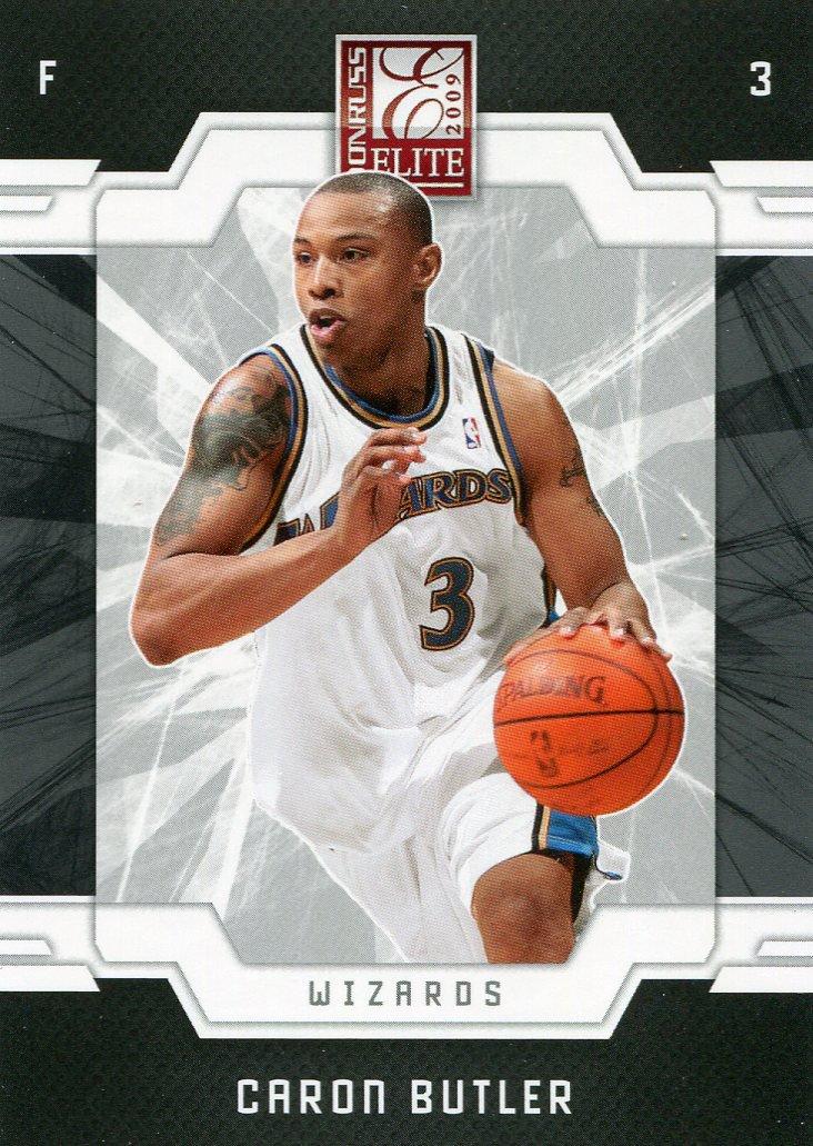 2009 Donruss Elite Basketball Card #118 Caron Butler
