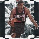 2009 Donruss Elite Basketball Card Jersey #97 LaMarcus Aldridge