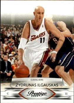 2009 Prestige Basketball Card #18 Zydrunas Ilgauskas