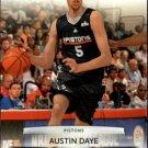 2009 Prestige Basketball Card #165 Austin Daye
