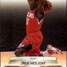 2009 Prestige Basketball Card #167 Jrue Holiday