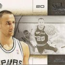 2009 Studio Basketball Card #11 Manu Ginobili