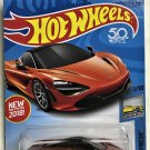 2018 Hot Wheels #178 McLaren 720S