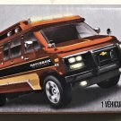 2018 Matchbox Power Grabs #FHX90 95 Custom Chevy Van