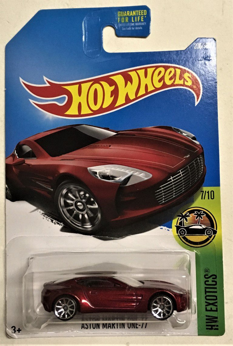 2017 Hot Wheels #200 Aston Martin One 77