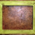 "11 x 17 1-1/2"" Pale Green Distressed Picture Frame"