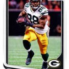 2018 Score Football Card #123 Ty Montgomery