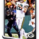 2018 Score Football Card #114 Aaron Rodgers
