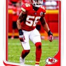 2018 Score Football Card #163 Derrick Johnson