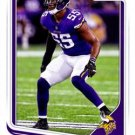 2018 Score Football Card #205 Anthony Barr