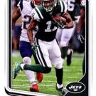 2018 Score Football Card #242 Robby Anderson