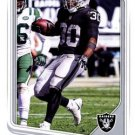 2018 Score Football Card #255 Jalen Richard