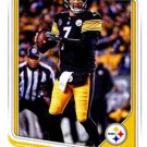2018 Score Football Card #269 Ben Roethlisberger
