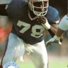 1991 Pro Set Platinum Football Card #8 Bruce Smith
