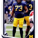 2018 Score Football Card #340 Maurice Hurst Jr