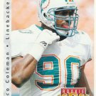 1992 Upper Deck Football Card #405 Marco Coleman