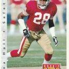 1992 Upper Deck Football Card #410 Dana Hall