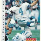 1992 Upper Deck Football Card #411 Jason Hanson