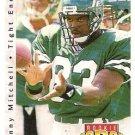 1992 Upper Deck Football Card #417 Johnny Mitchell