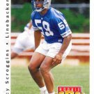 1992 Upper Deck Football Card #419 Tracy Scoggins
