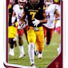 2018 Score Football Card #372 Kalen Ballage