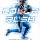 2018 Score Football Card Color Rush #8 Christian McCaffrey