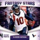 2018 Score Football Card Fantasy Stars #13 DeAndre Hopkins